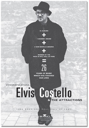 Elvis Costello music industry